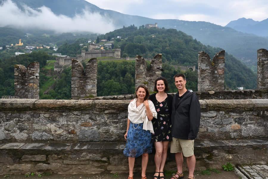 Bellinzona Switzerland Castles
