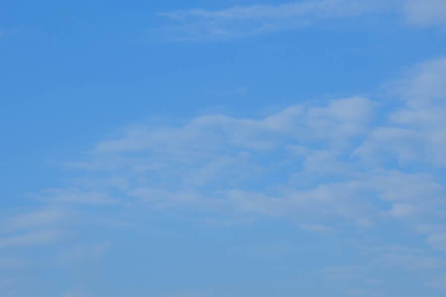Blue Skies Clouds Piemonte Italy