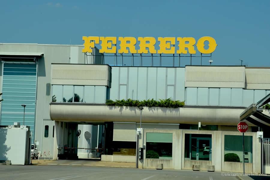 Ferrero Factory Alba Italy