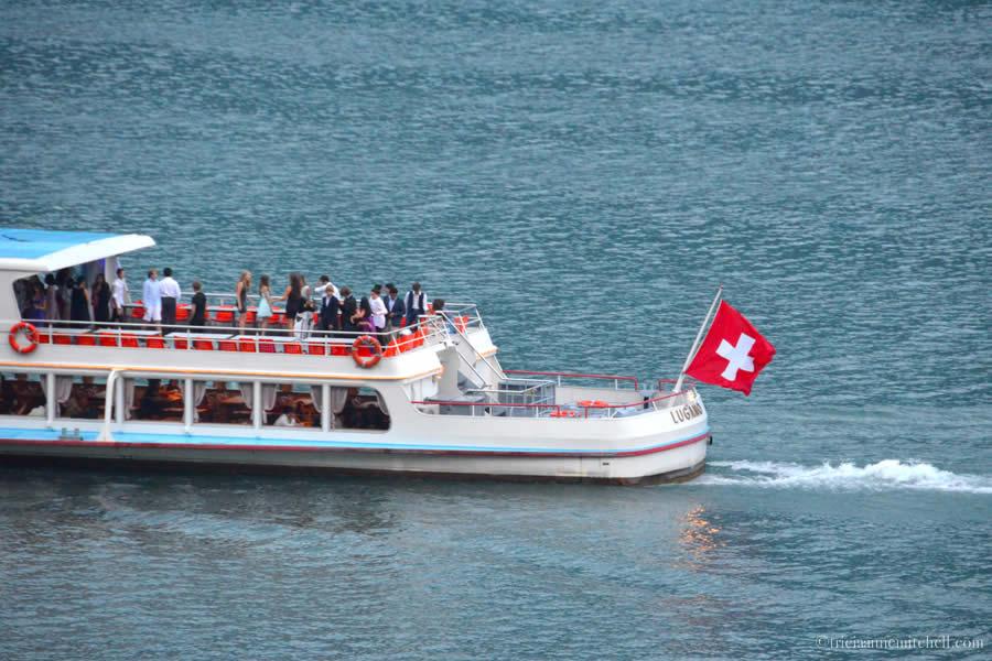 Lake Lugano Boat Ride