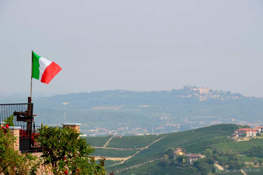 Piedmont Wine Country Italy