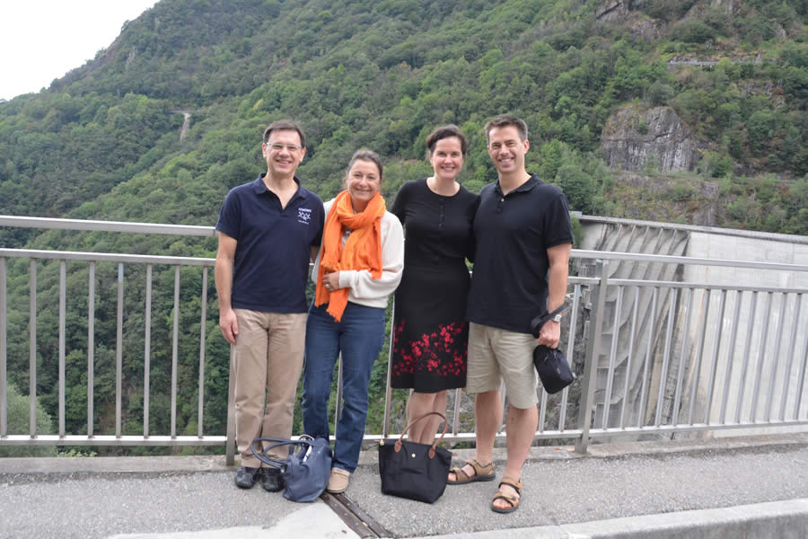 Verzasca Dam Switzerland