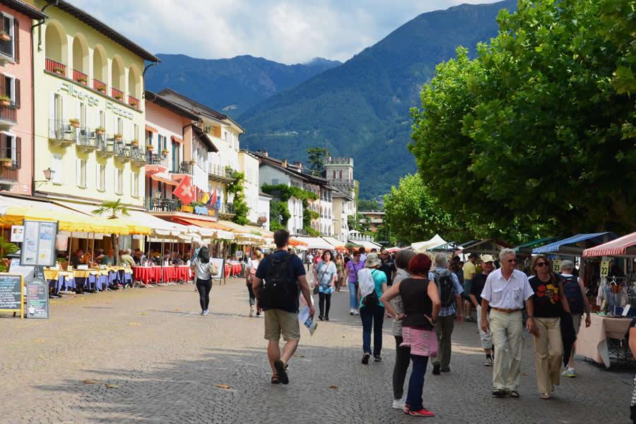 Ascona Ticino Italy