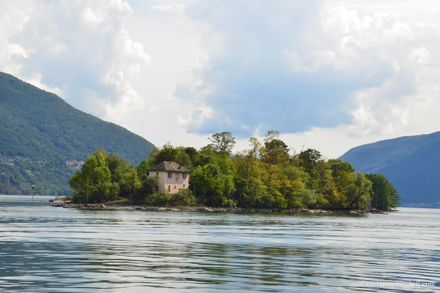 Brissago Islands Ferry Ride Ticino Switzerland