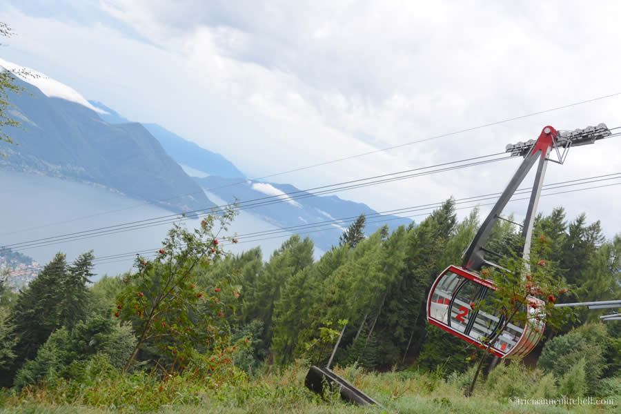 Cardada Cable Car Locarno Switzerland