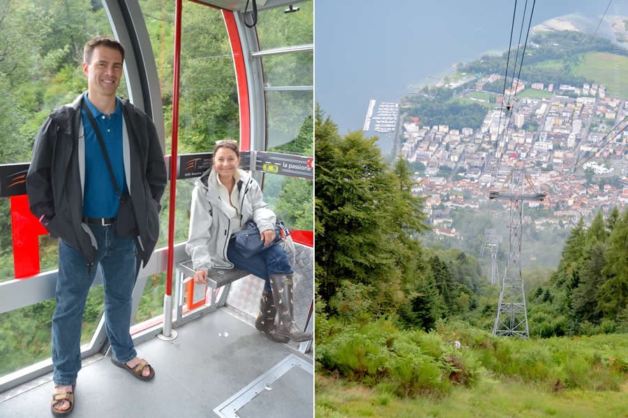 Cardada Cable Car Locarno
