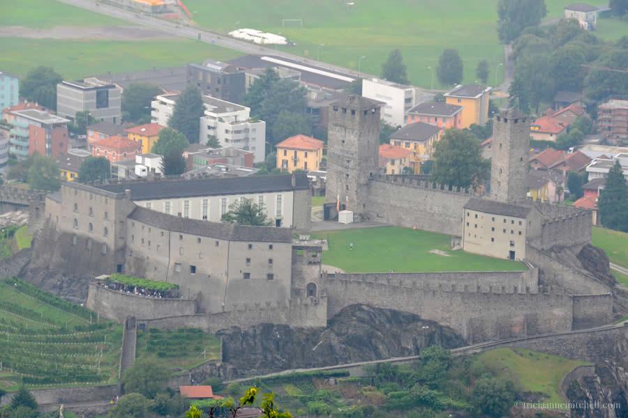 Castelgrande Bellinzona Castle