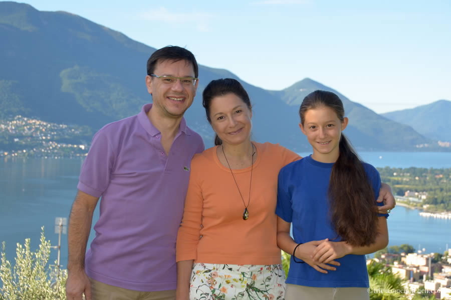 Cocoa's Family in Switzerland