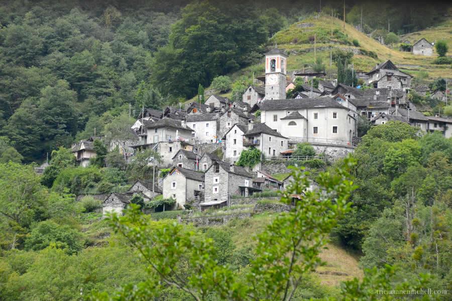 Corippo Ticino Switzerland Landscape