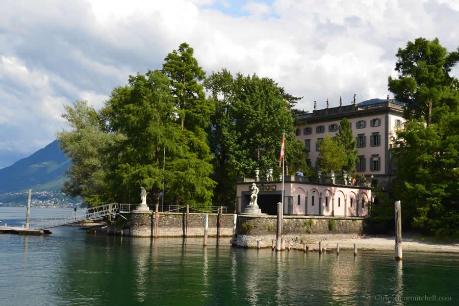Lake Maggiore Brissago Islands Botanic Park