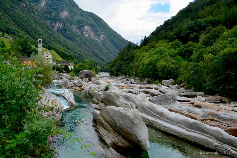 Ponte dei Salti Lavertezzo Ticino Switzerland