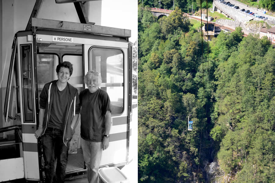 Rasa Ticino Cable Car Ride