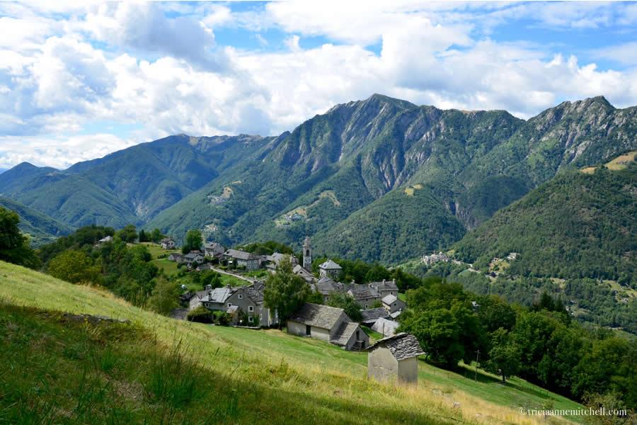Rasa Ticino Switzerland Panorama