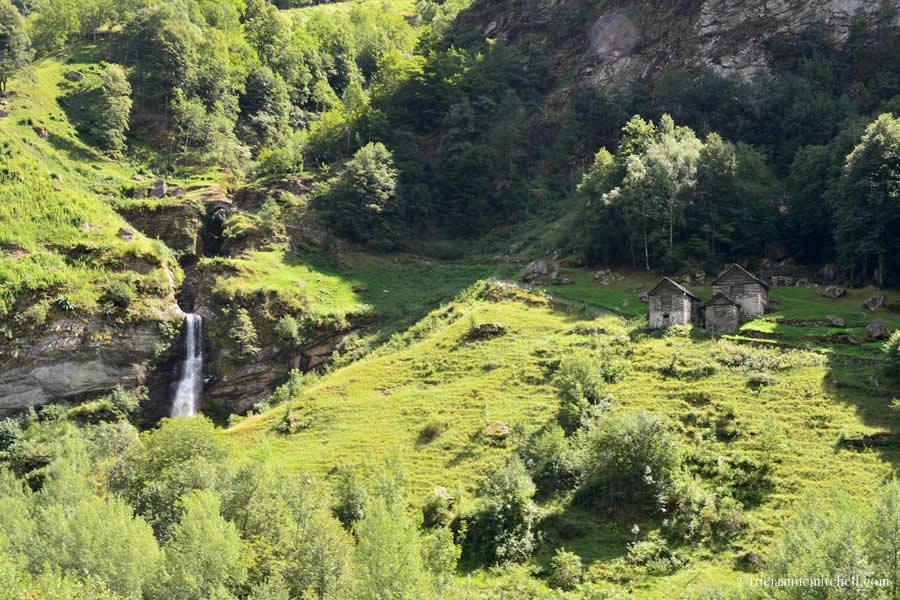 Ticino Switzerland Waterfall