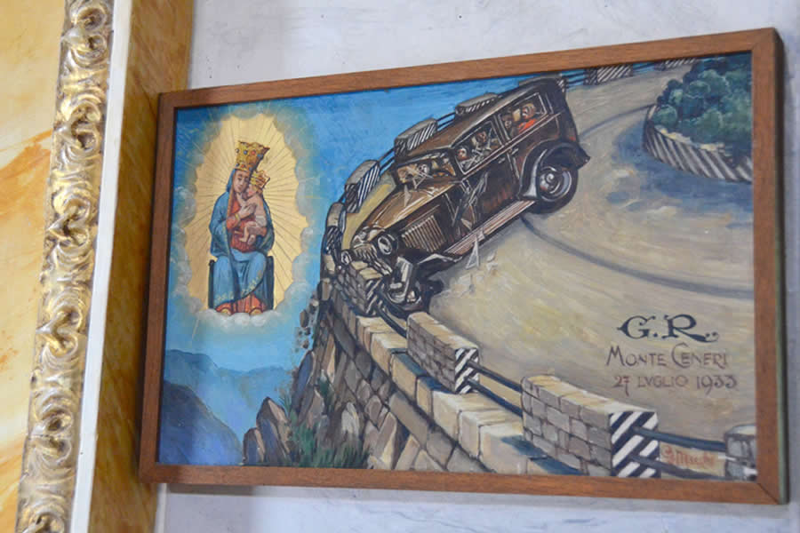 Madonna del Sasso Painting