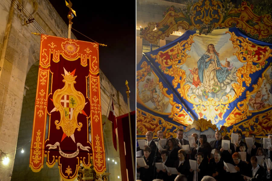 Band Malta Cospicua Bormla Church Immaculate Conception