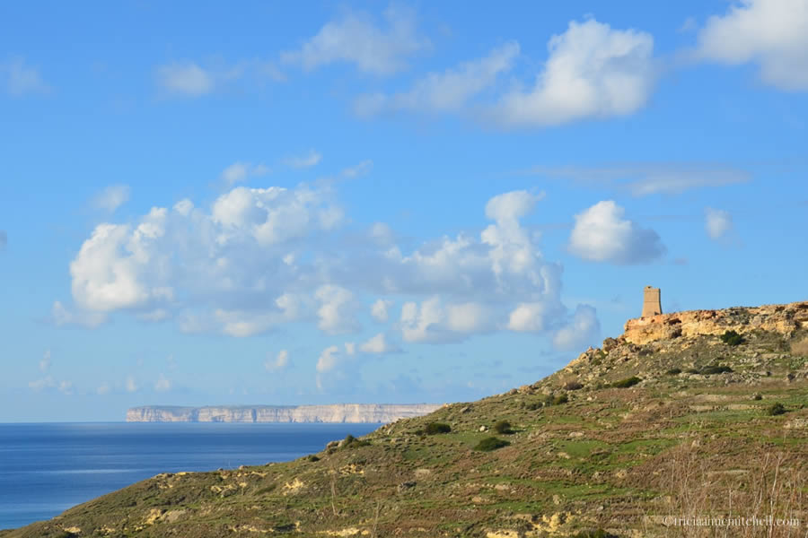 Gnejna Bay and Lippija Tower Malta