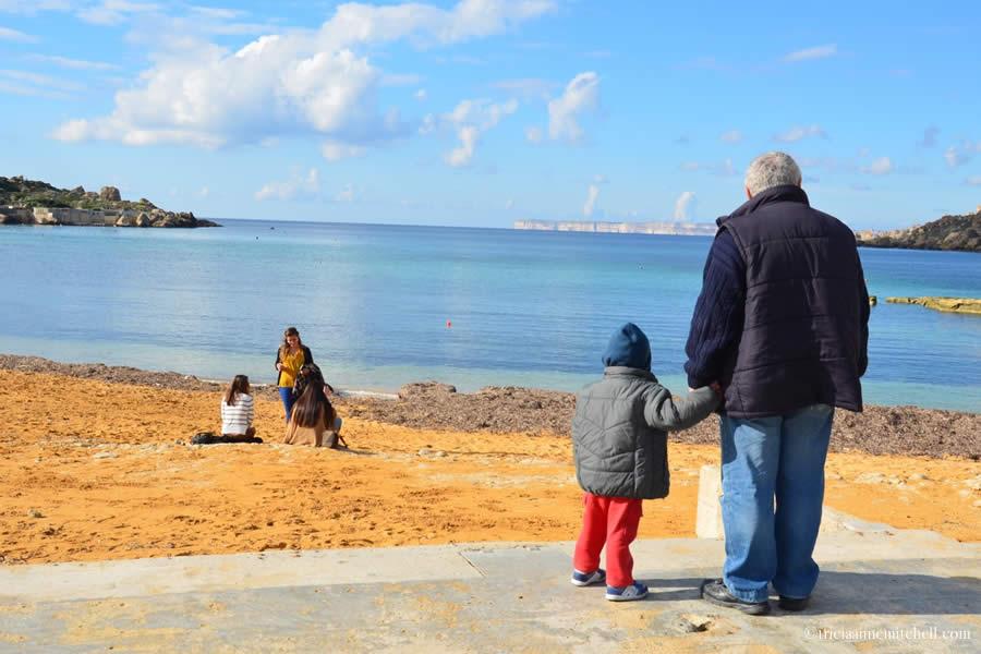 Gnejna Bay Beach Malta