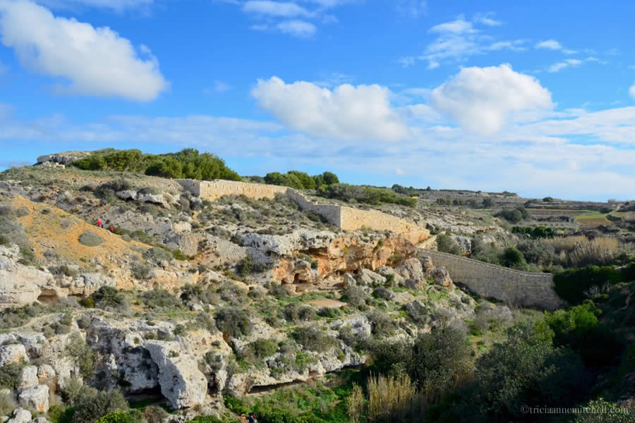 Victoria Lines Malta near Bingemma Chapel