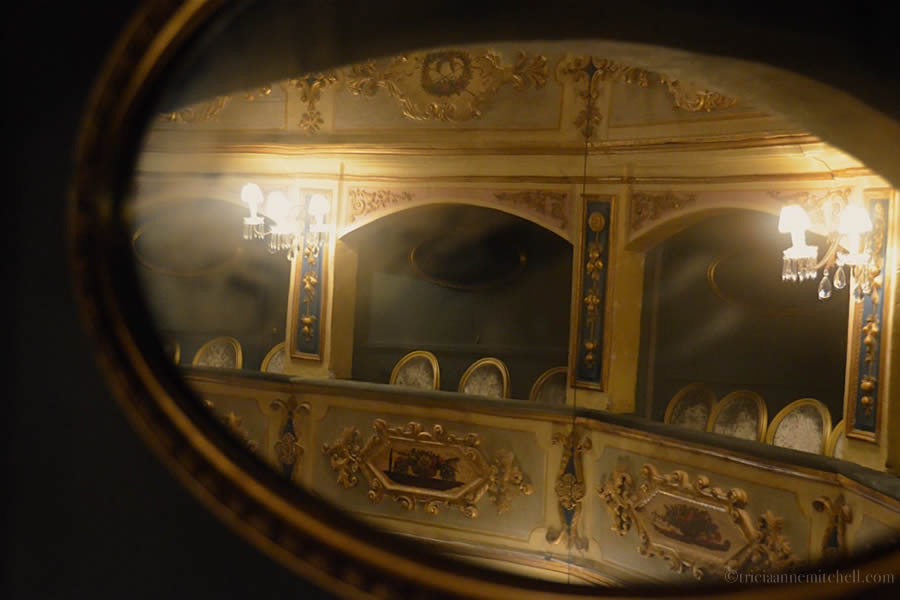 Manoel Theatre Box Mirror Valletta Malta