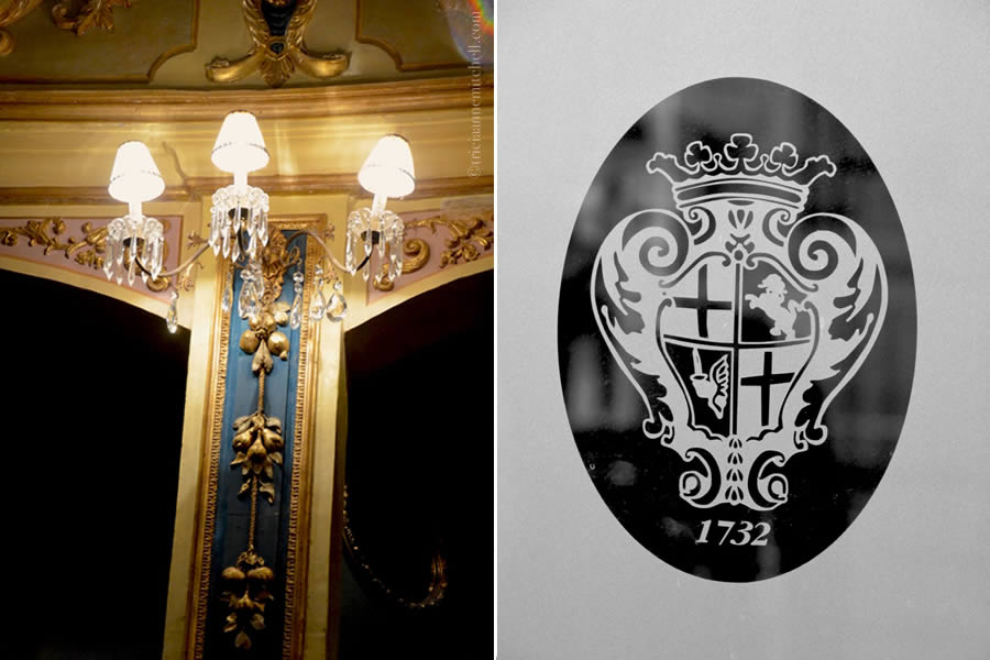 Manoel Theatre Crystal Sconce