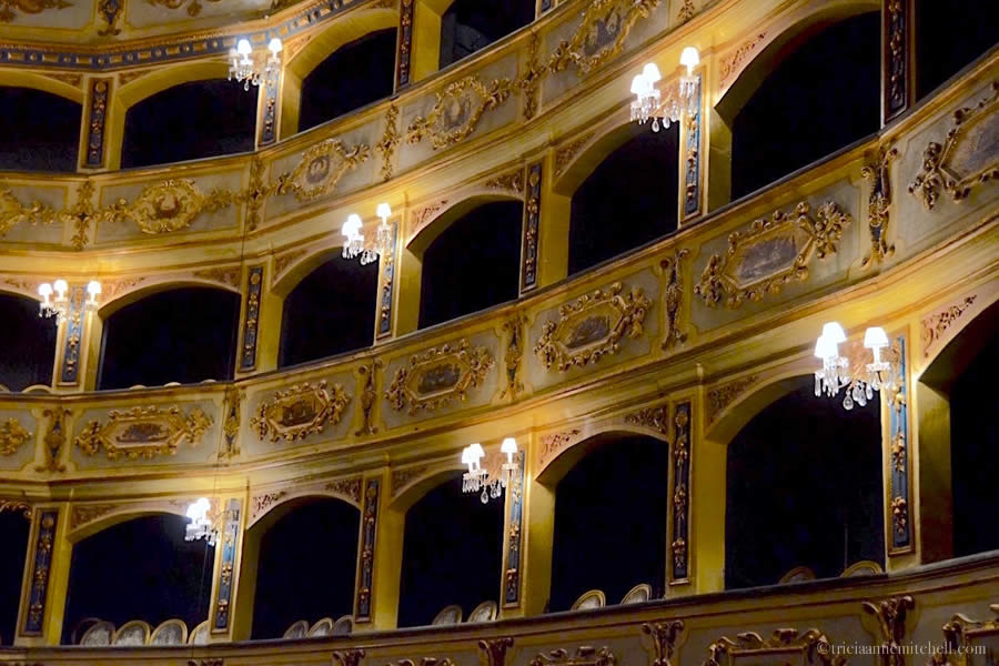 Manoel Theatre Interior Valletta Malta
