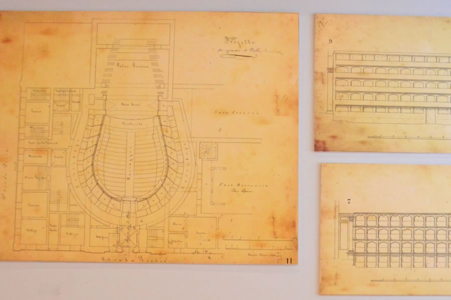 Teatru Manoel Museum Blueprints Valletta