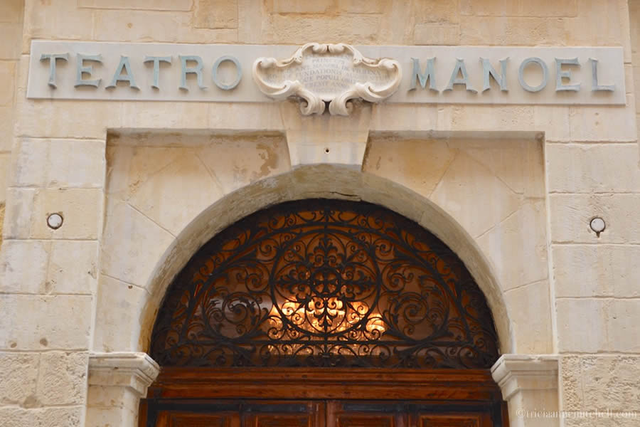 Teatru Manoel Theater Building Valletta Malta