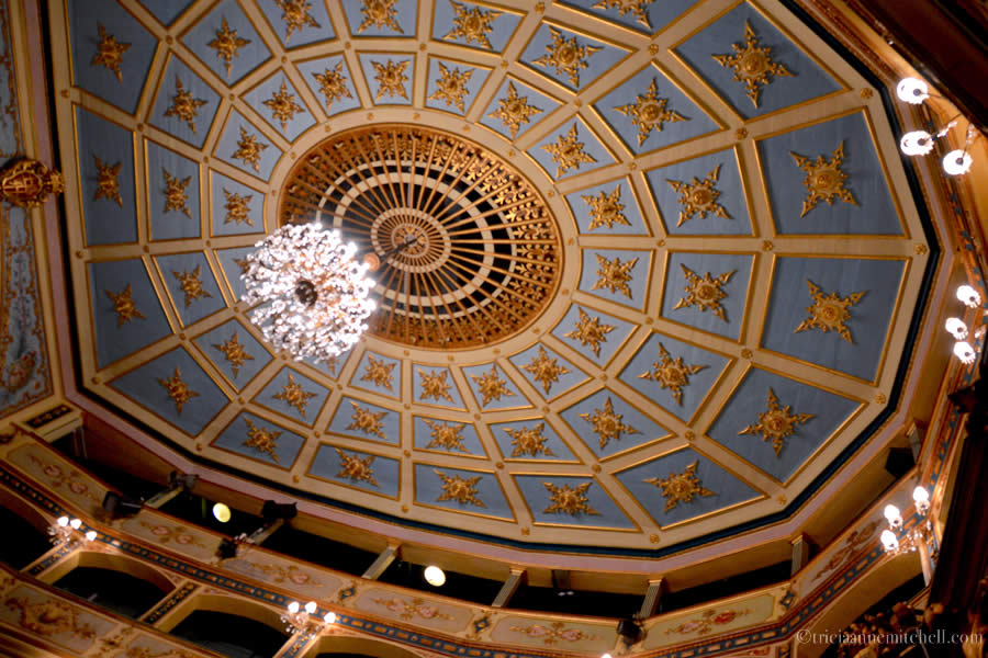 Teatru Manoel Theater Valletta Ceiling