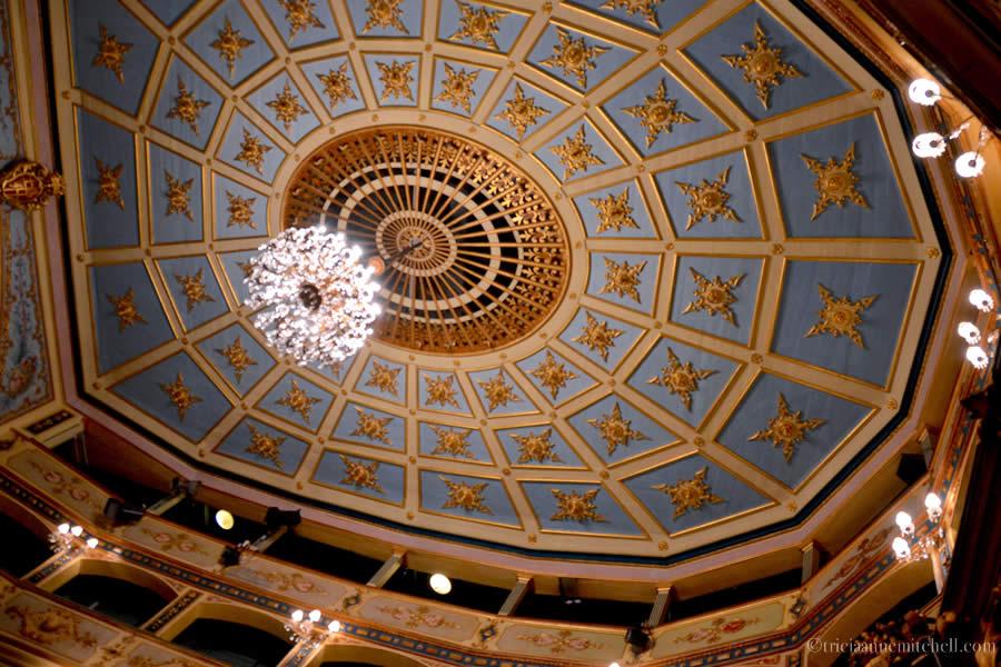 Teatru Manoel Theater Valletta Ceiling
