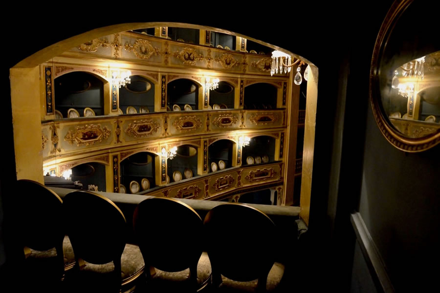 Teatru Manoel Theatre Box Valletta Malta