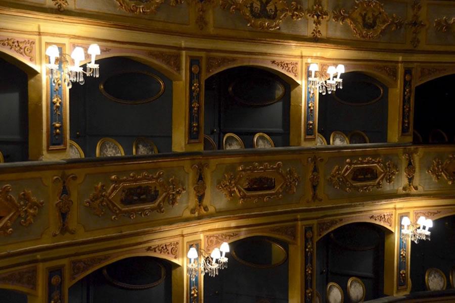 Teatru Manoel Theatre Boxes Valletta Malta