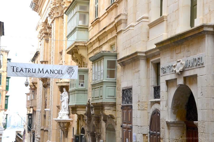Teatru Manoel Valletta Malta