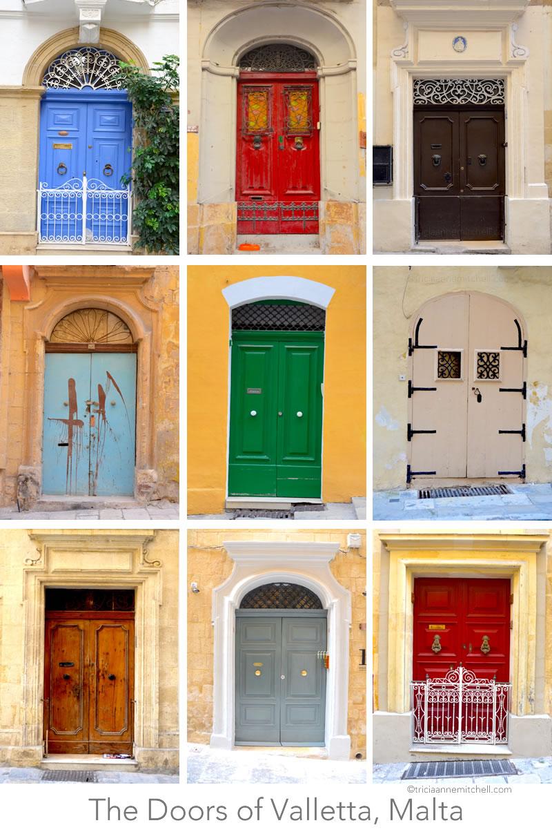 Valletta-Malta-Architecture-Doors-Collage