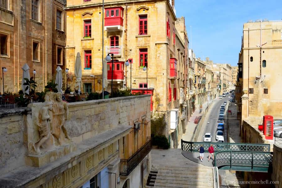 Valletta Street Scenes