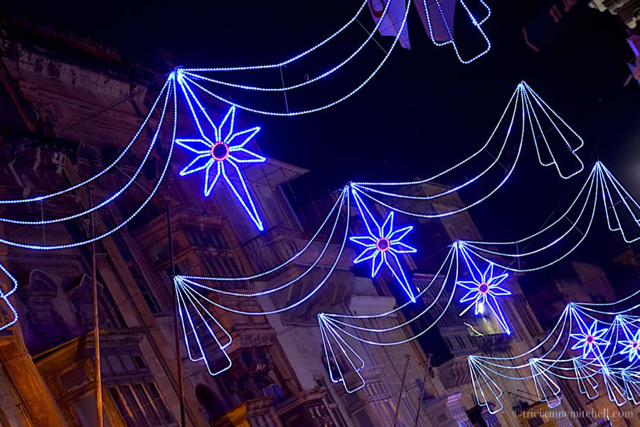 Valletta Malta Christmas Decorations