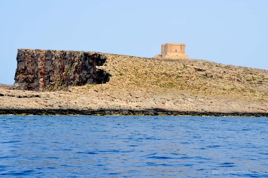 Comino Malta Sailing Knight Watchtower