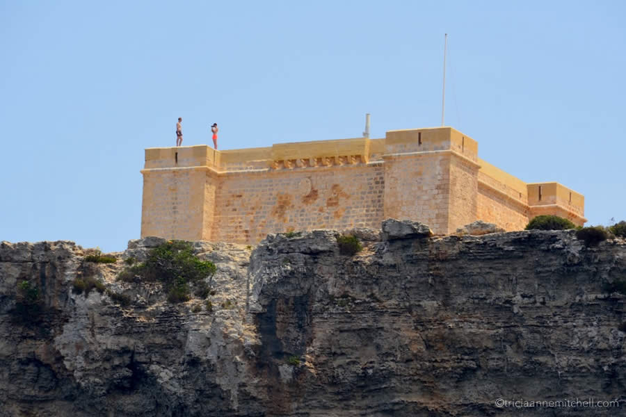 Comino Malta St. Mary Watchtower Count of Monte Cristo