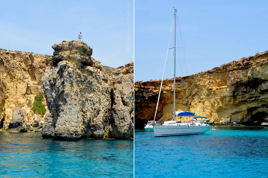 Crystal Lagoon Comino Sailing Day Trip