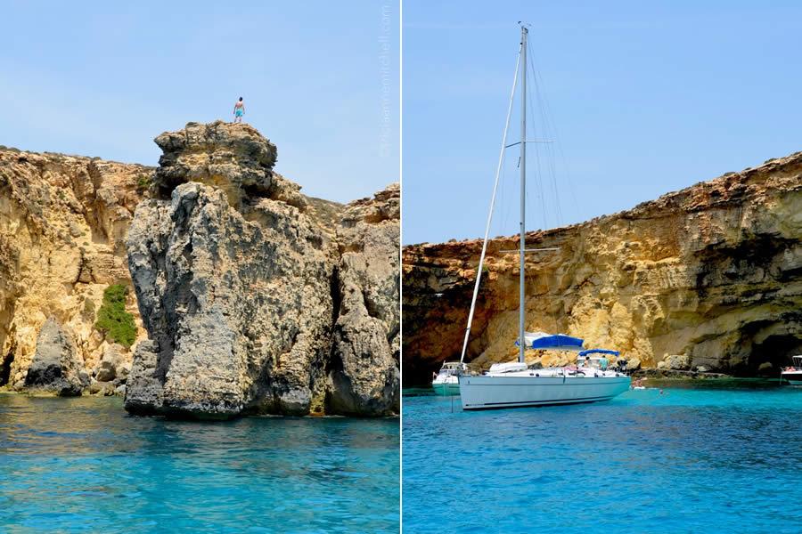 Crystal Lagoon Comino Sailing Day Trip