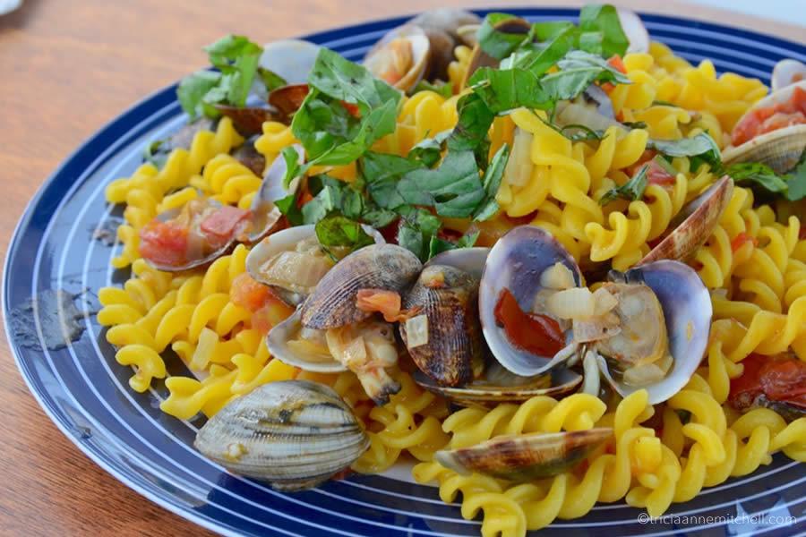 Maltese Seafood Mediterranean Pasta