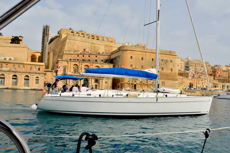 Sailing Charter Malta Grand Harbour Valletta