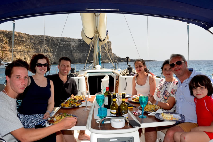 Sailing Charters Malta Crystal Lagoon