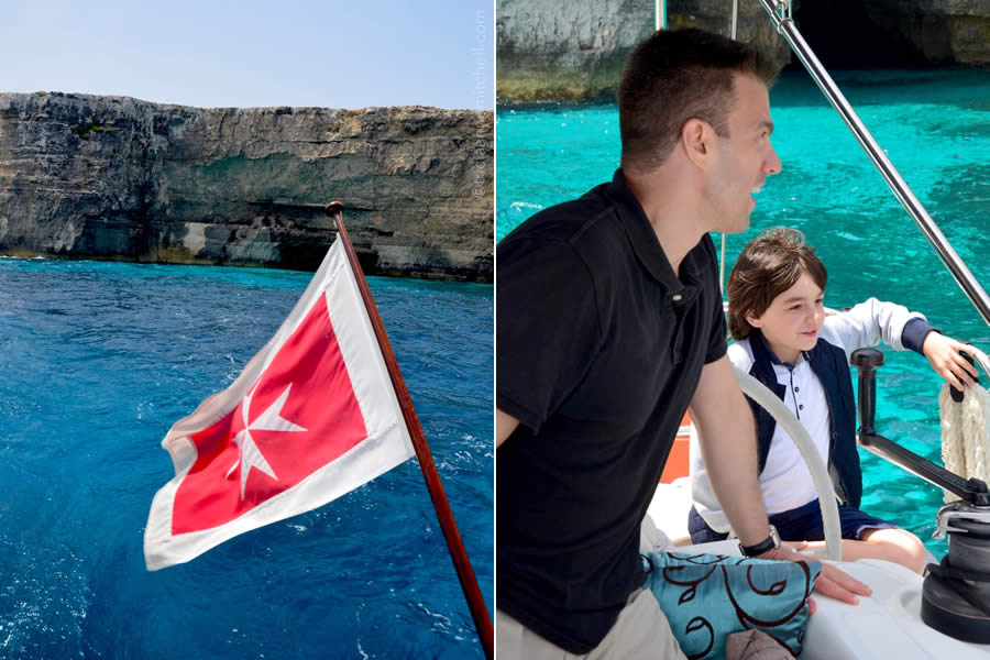 Sailing Malta Blue Water