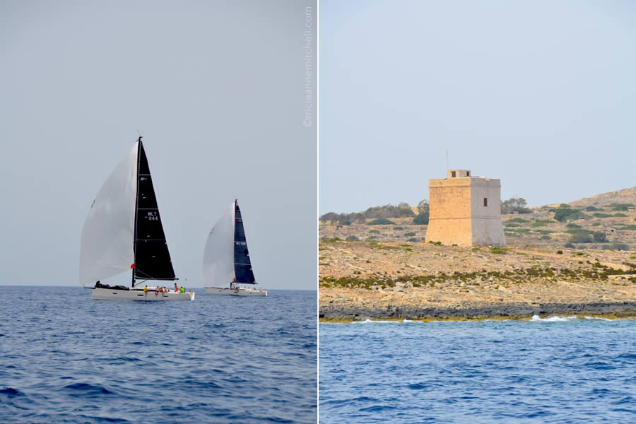 Sailing Malta Knights of Malta Watchtower