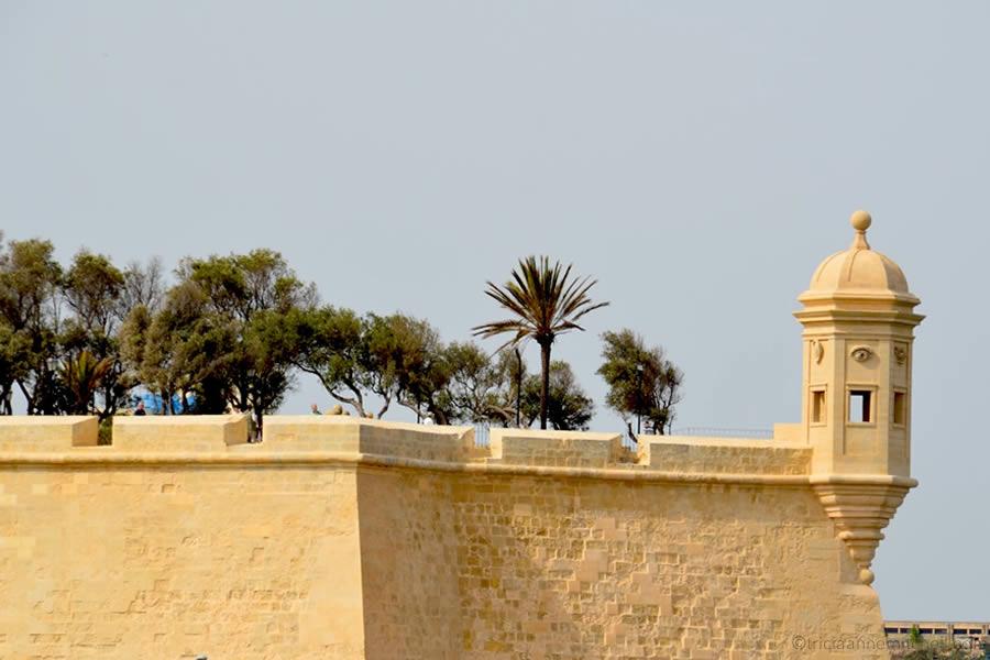 Senglea Malta Watchtower Vedette Grand Harbour