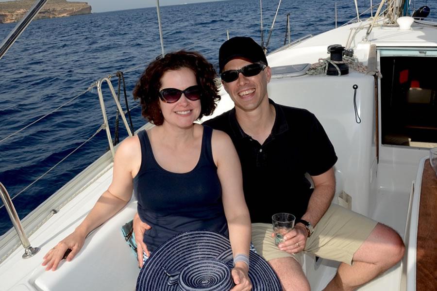 Tricia Shawn Malta Sailing