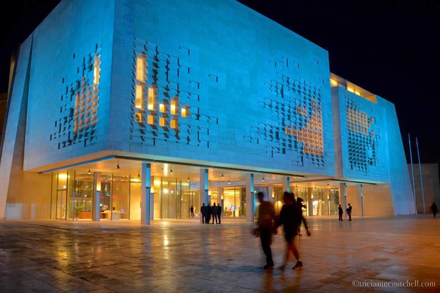 Valletta Malta Parliament Renzo Piano