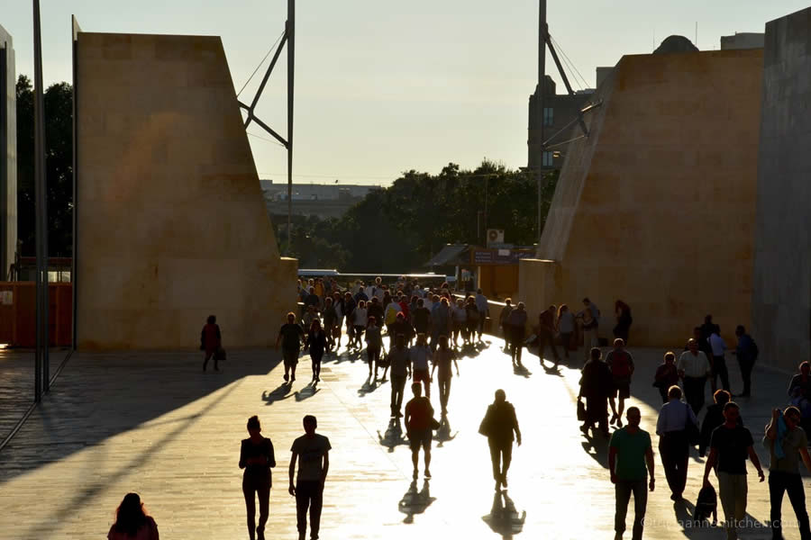 City Gate Valletta Malta