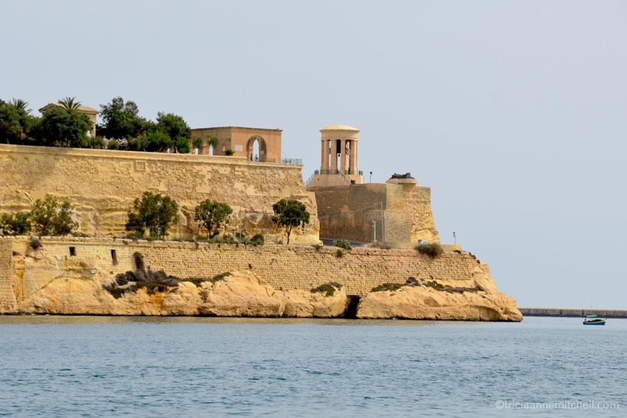 Lower Barrakka Gardens Siege Bell Valletta